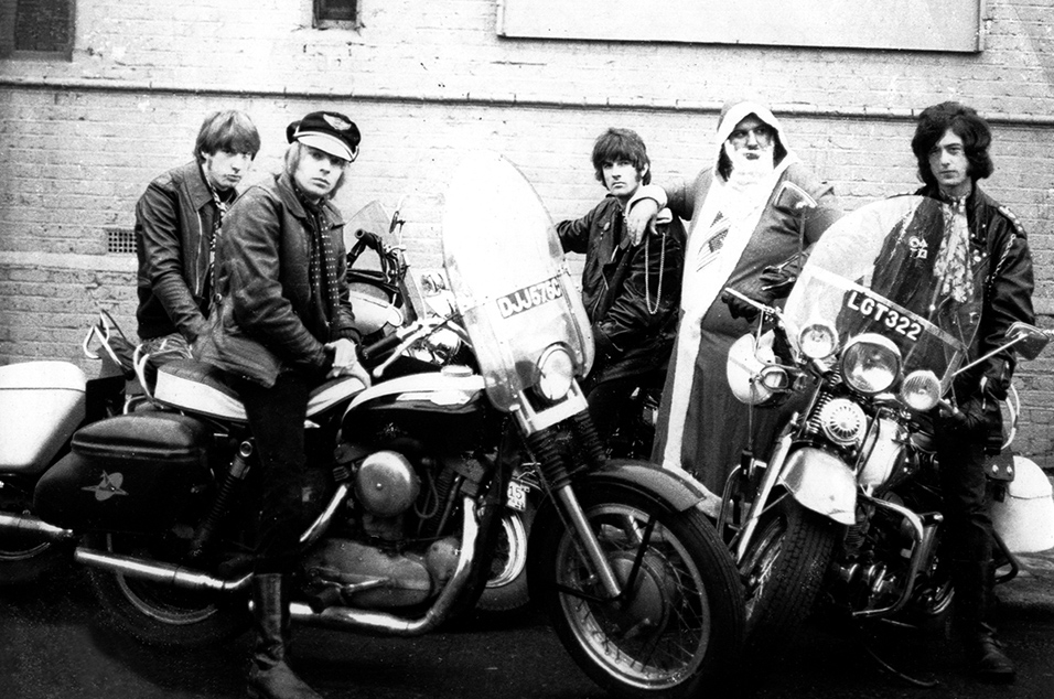 Peter Grant with Yardbirds