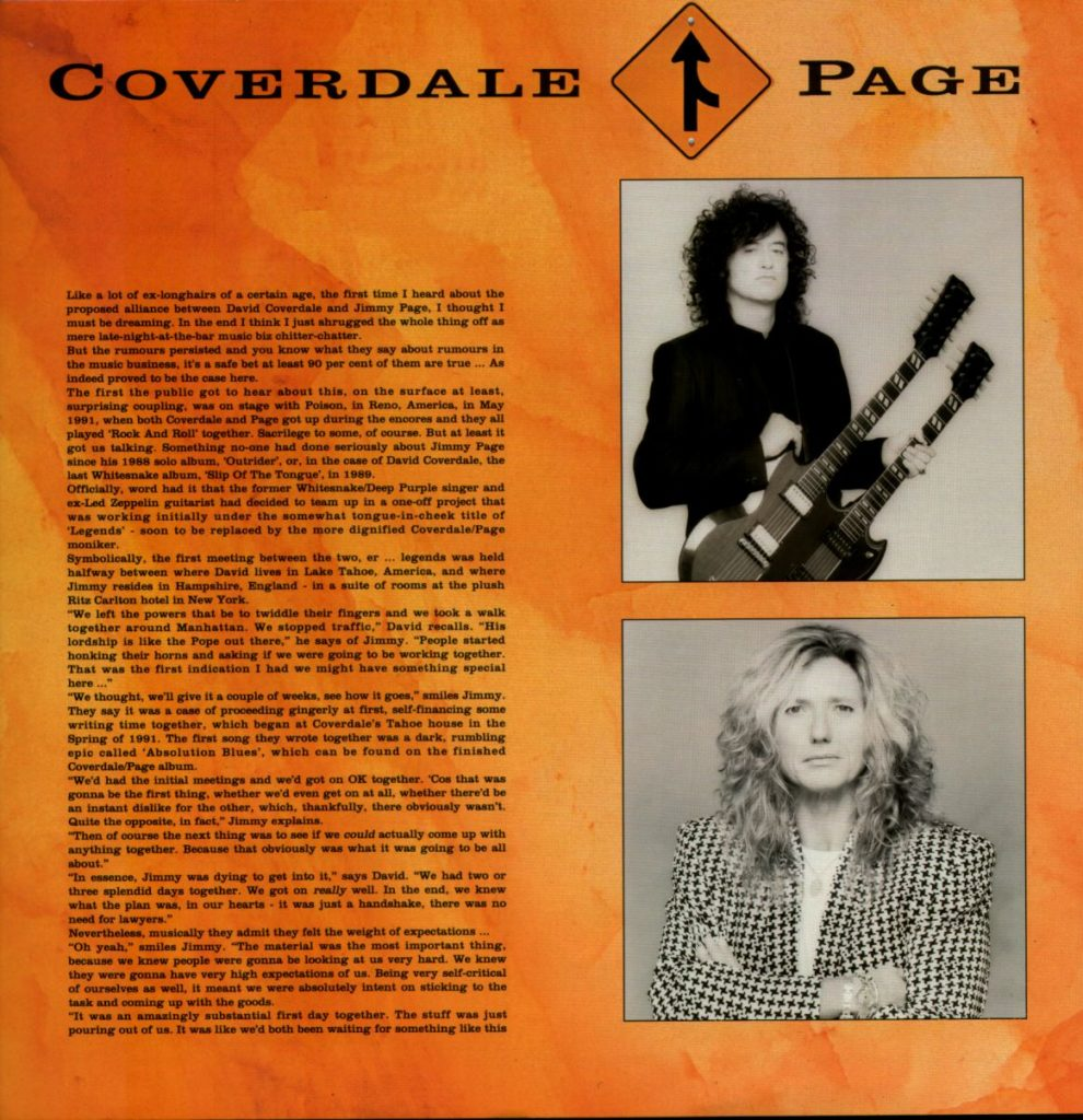 Coverdale-Page Japan Toorbook 1993 - 04