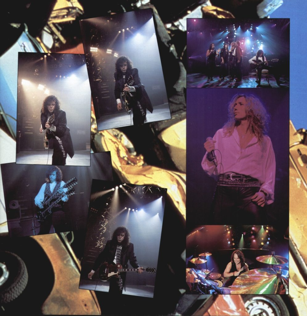 Coverdale-Page Japan Toorbook 1993 - 09