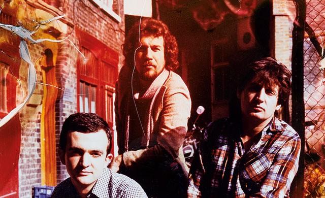 Hipgnosis образца середины 1970-х. Слева направо Peter Christopherson, Aubrey Powell и Storm Thorgerson.